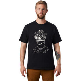 Mountain Hardwear Head in the Cloud T-shirt Heren, black
